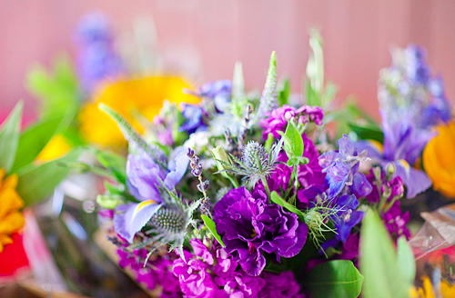 bouquet closeup